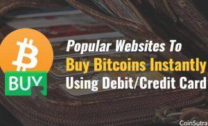 5 Situs Untuk Segera Membeli Bitcoin Dengan Kartu Debit atau Kredit (2020)