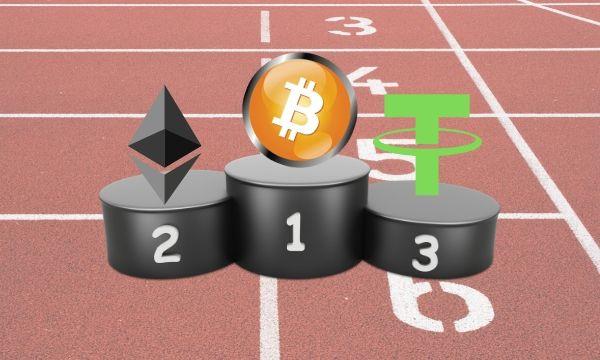 Tether (USDT) Sekarang Crypto Terbesar ke-3 Oleh Market-Cap Surpassing Ripple (XRP)