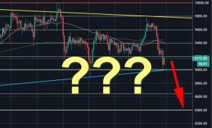 Analisis Harga Bitcoin: BTC Terjun Ke $ 9000 Di Pasar Runtuh