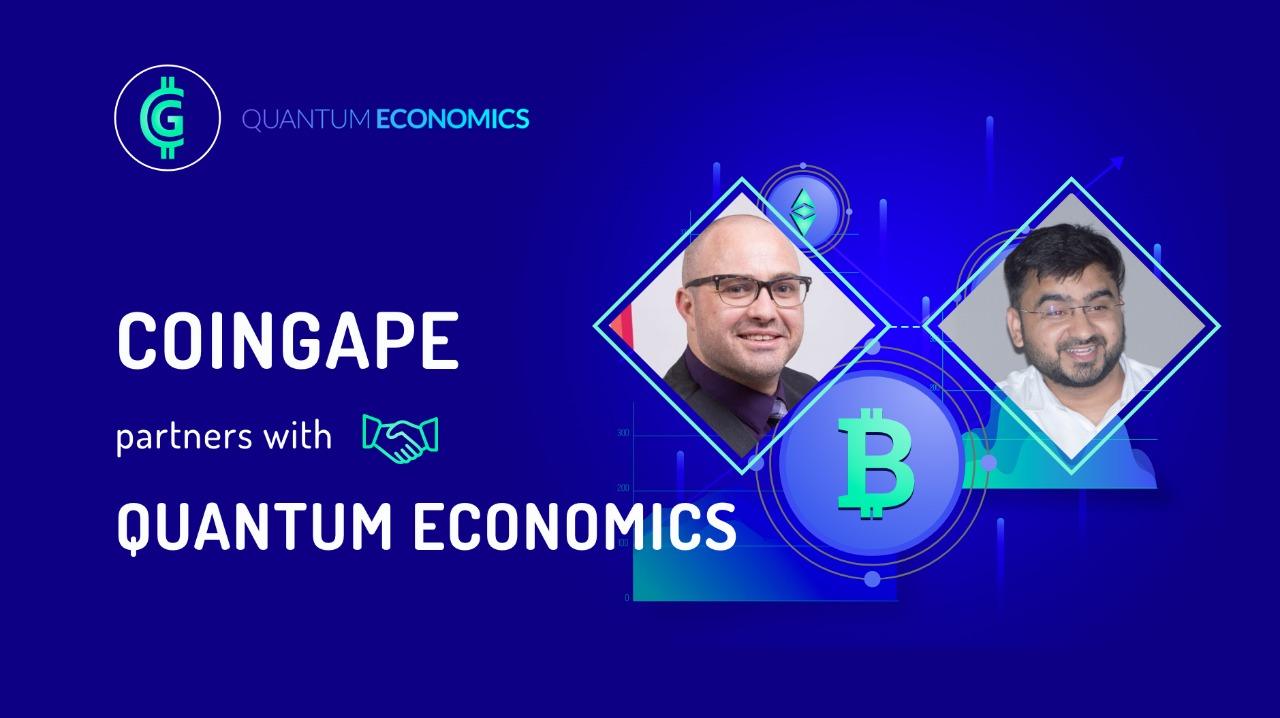 Ekonomi Kuantum Mati Greenspan Bermitra dengan Kelompok Media Crypto Media Utama India CoinGape