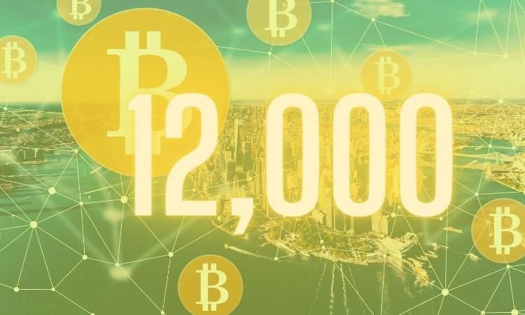 Bitcoin Menerima $ 12.000 Saat Kapitalisasi Pasar Mendapat $ 9 Miliar Hari Ini