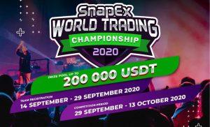 SnapEx Mengumumkan Kejuaraan Perdagangan Dunia Musim two dengan Kumpulan Hadiah 200K USDT