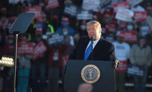Situs Net kampanye Presiden Trump diretas dalam penipuan cryptocurrency