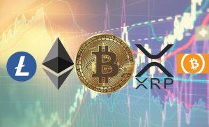 Bitcoin, Ethereum, Ripple, Litecoin, dan Bitcoin Cash