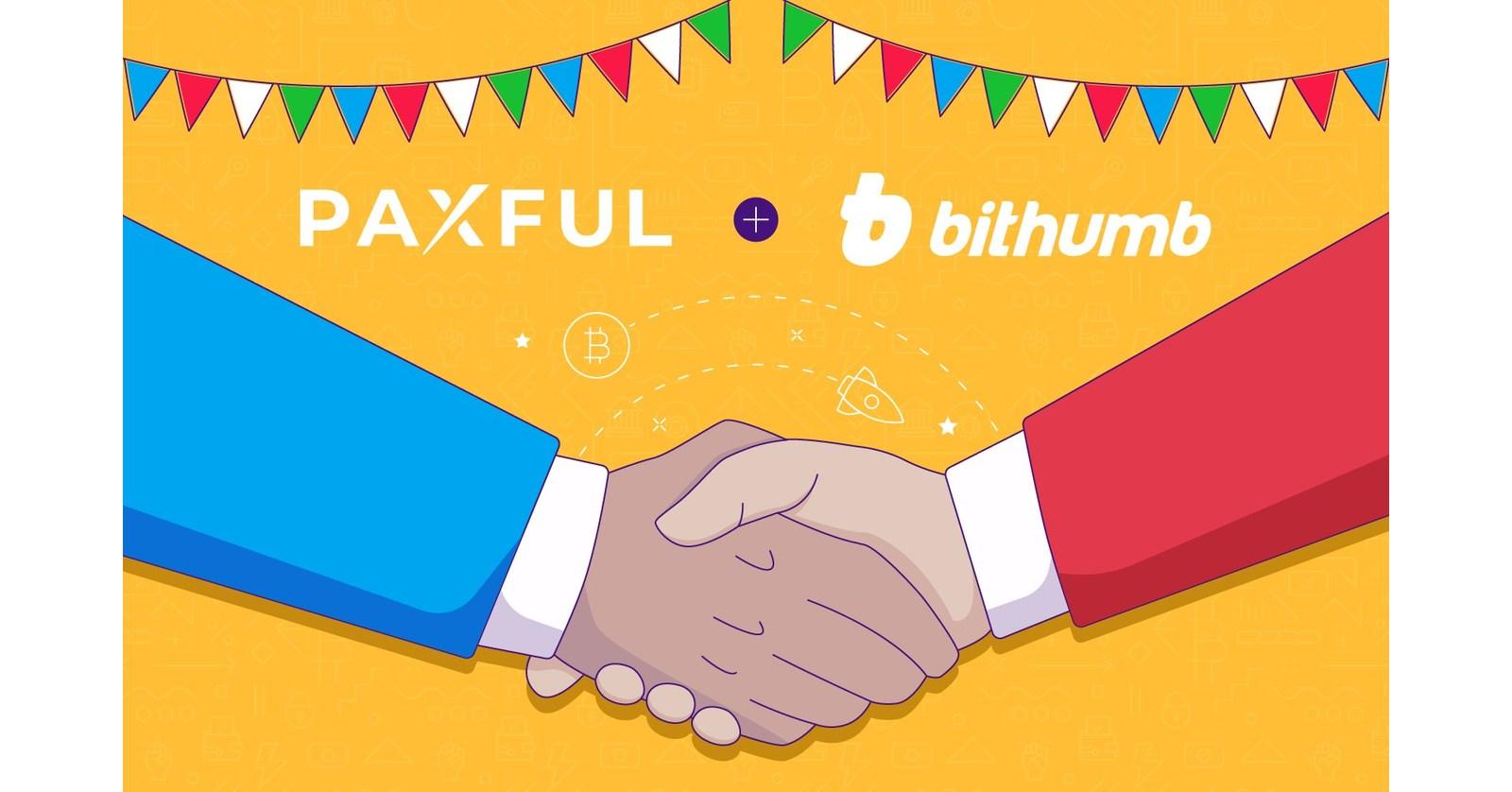 Paxful Bekerja Sama Dengan Raksasa Cryptocurrency Korea Selatan Bithumb Global